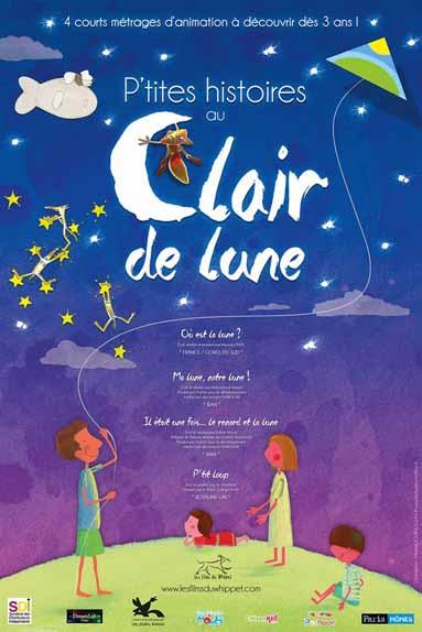 P'tites histoires au Clair de lune - A partir de 3 ans
