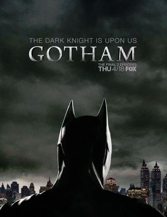 """L'affiche de Bruce Wayne en Batman dans """"Gotham"""""""