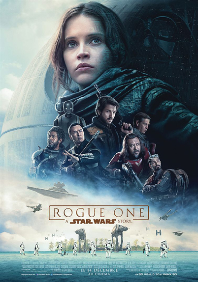 N°29 - Rogue One A Star Wars Story : 1,056 milliard de dollars de recettes