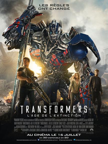N°25 - Transformers l'âge de l'extinction : 1,104 milliard de dollars de recettes