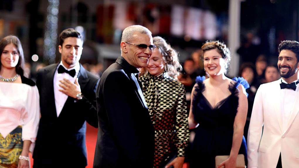 Abdellatif Kechiche et ses comédiens