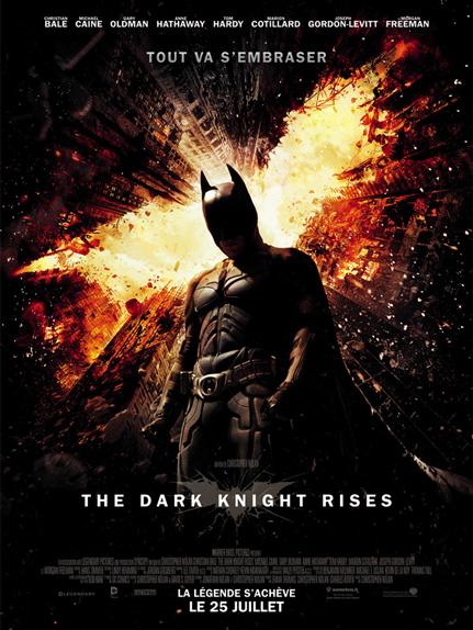 N°27 : Dark Knight Rises : 1,084 milliard de dollars de recettes