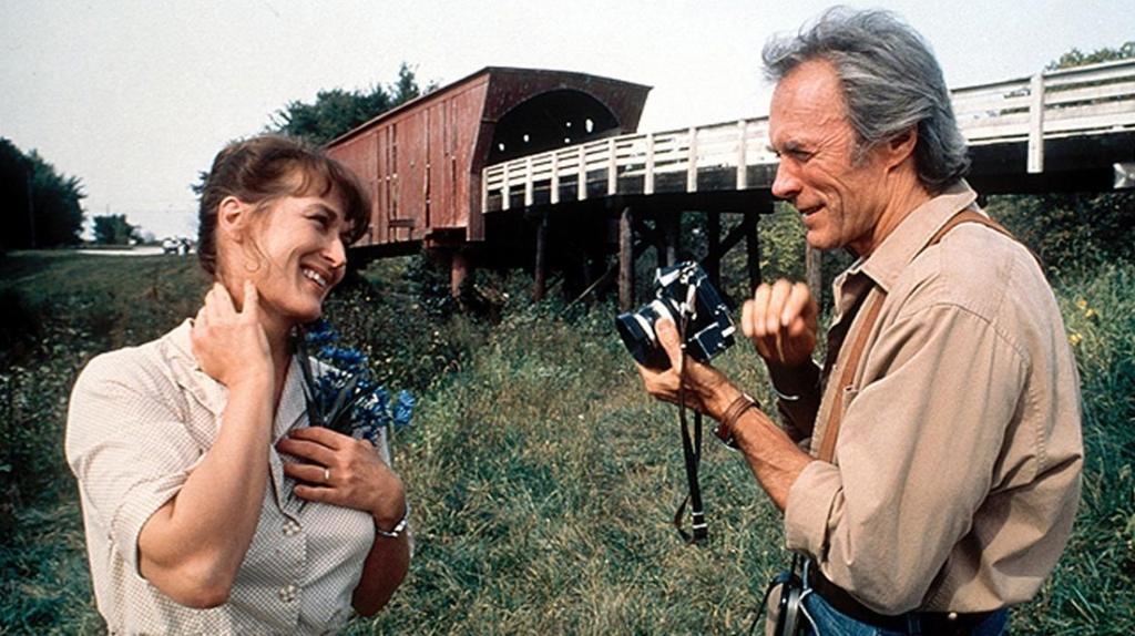 """Dans """"Sur la route de Madison"""", de et avec Clint Eastwood (1995)"""