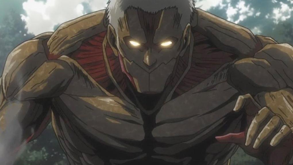 L'Attaque des Titans saison 3 : qui sont les 9 Titans Primordiaux ?: Le Titan  Cuirassé - AlloCiné