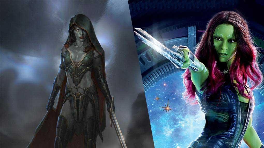 Les Gardiens de la Galaxie (Gamora)