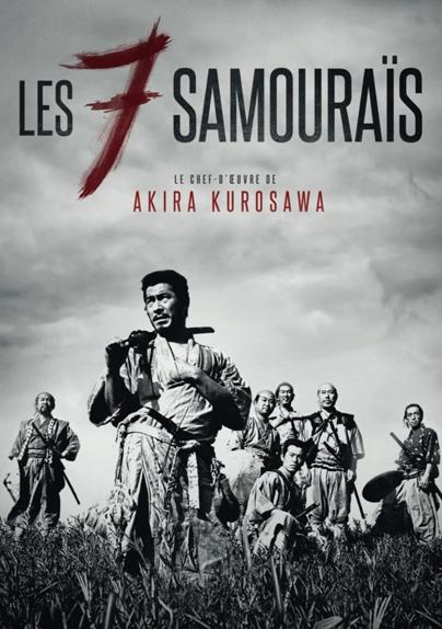 17e ex aequo - Les Sept samouraïs d'Akira Kurosawa (1954)
