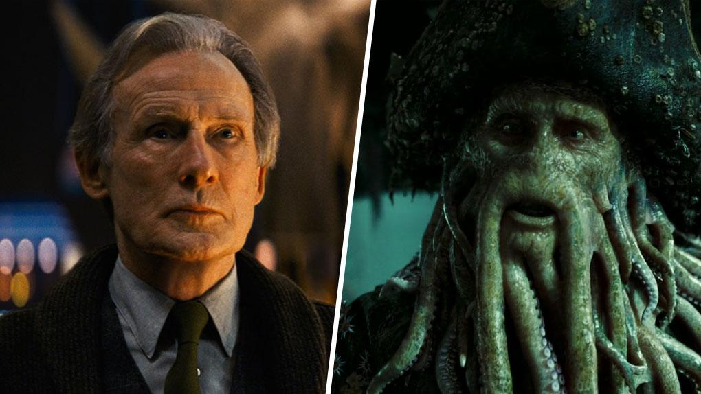 Bill Nighy est... Davy Jones