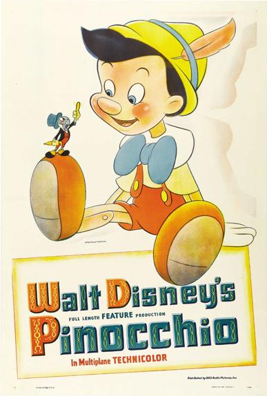 #24 - Pinocchio (1940) : 3,8 sur 5
