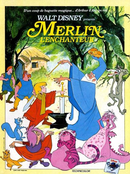 #14 - Merlin l'Enchanteur (1963) : 4 sur 5