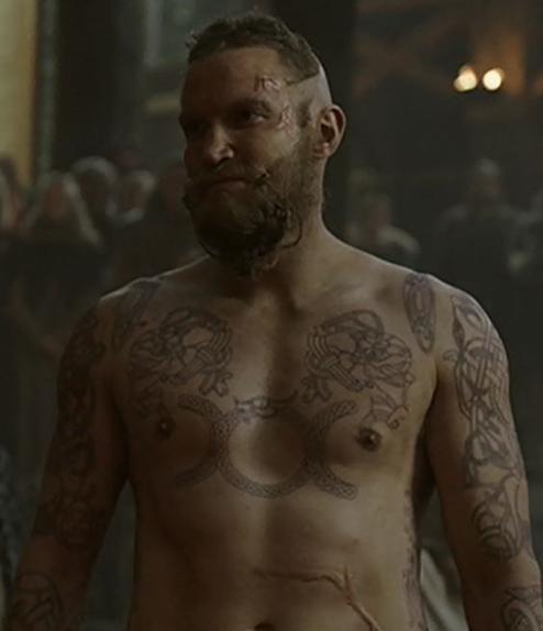 Les tatouages de Leif