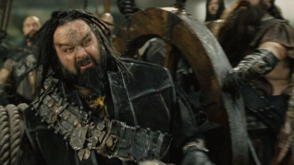 Peter Jackson sur un bateau pirate