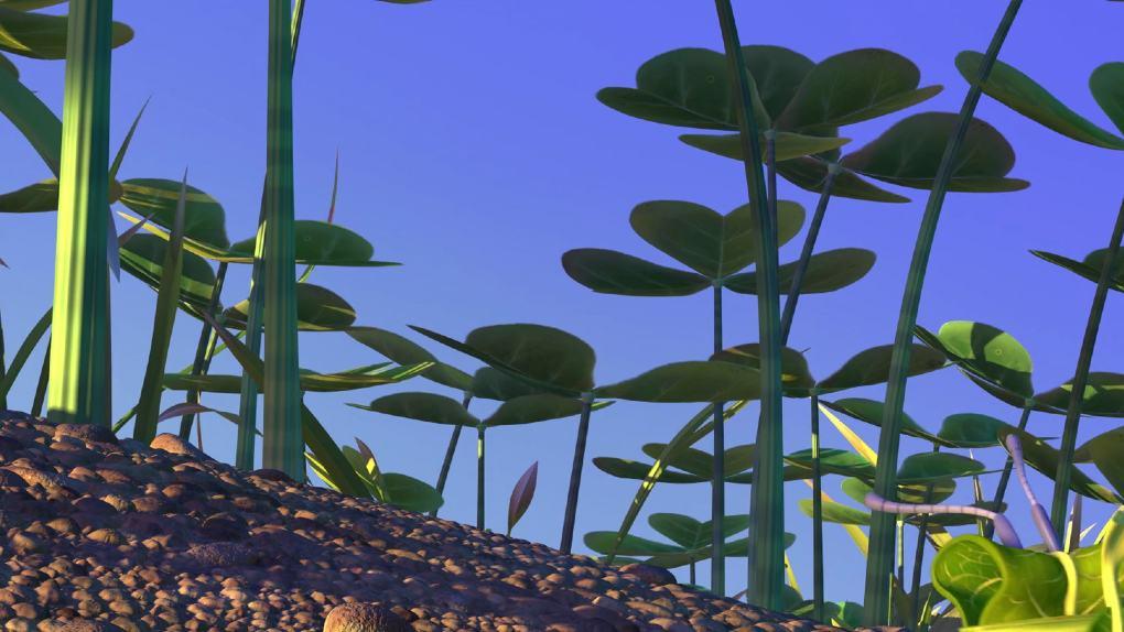 Dans quel Pixar trouve-t-on cette étrange forêt ?