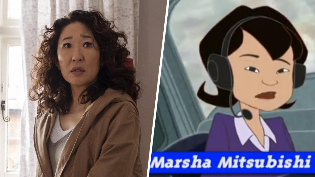 Sandra Oh - Marsha Mitsubishi