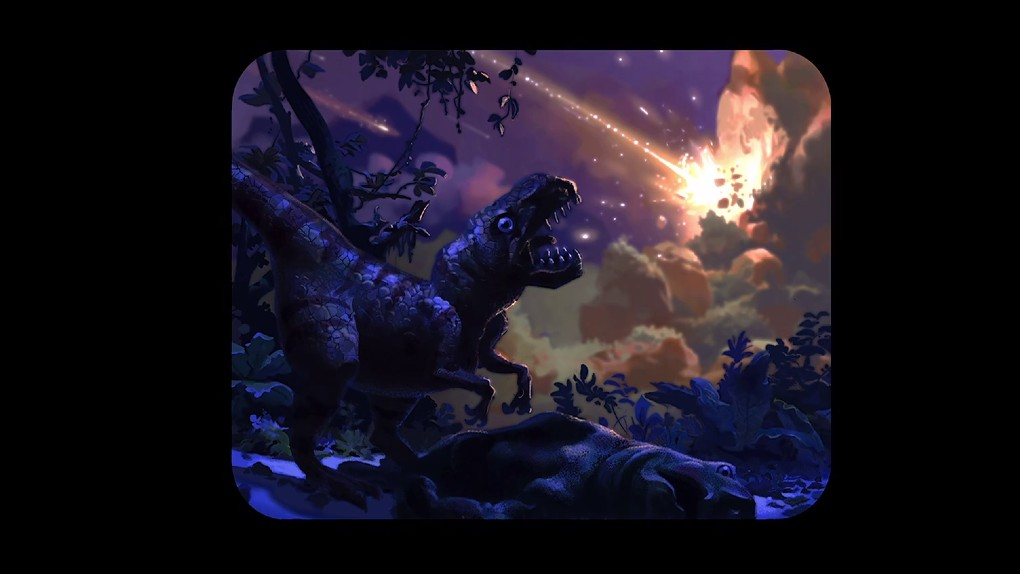 Les dinosaures de Fantasia ?