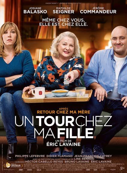 Un Tour Chez Ma Fille avec Josiane Balasko, Mathilde Seigner, Jérôme Commandeur...