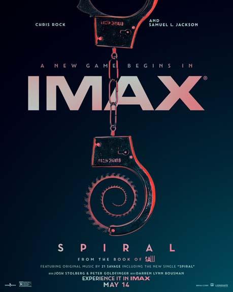 Spirale : L'Héritage de Saw avec Chris Rock, Samuel L. Jackson, Max Minghella...
