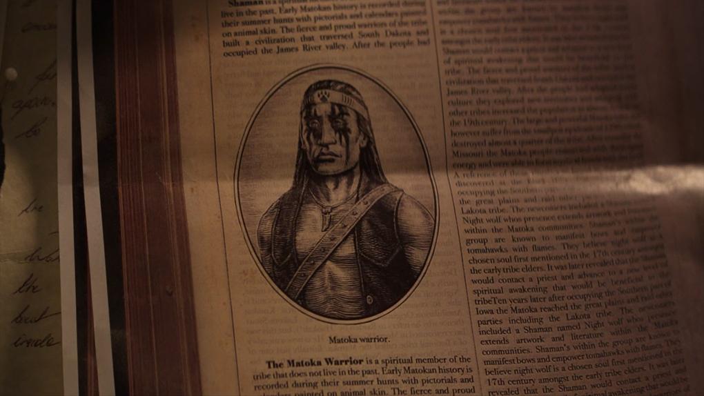 Nightwolf, le guerrier Matoka