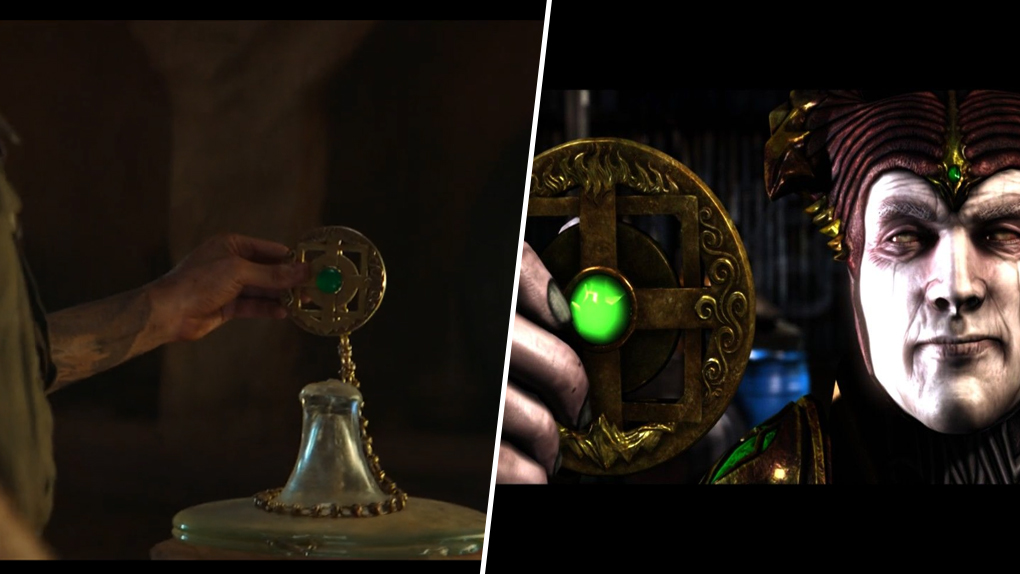 L'amulette de Shinnok