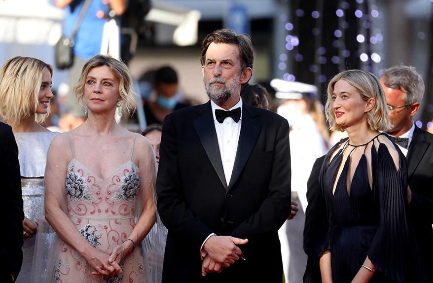 Margherita Buy, Nanni Moretti et Alba Rohrwacher