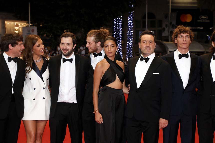 Hugo Selignac, Adèle Exarchopoulos, Karim Leklou, Idir Azougli, Kenza Fortas, Gilles Lellouche et Cédric Jimenez
