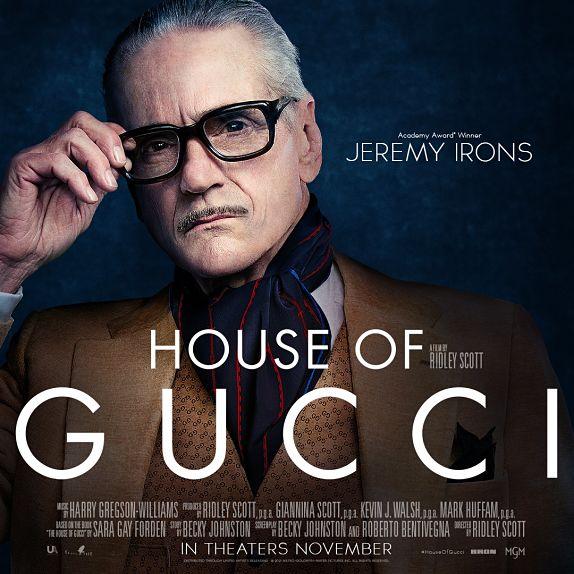 Jeremy Irons est Rodolfo Gucci
