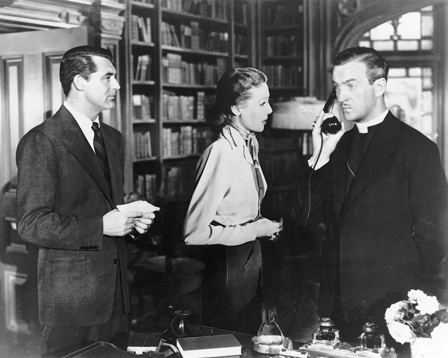 Honni soit qui mal y pense : Photo Cary Grant, David Niven, Loretta Young