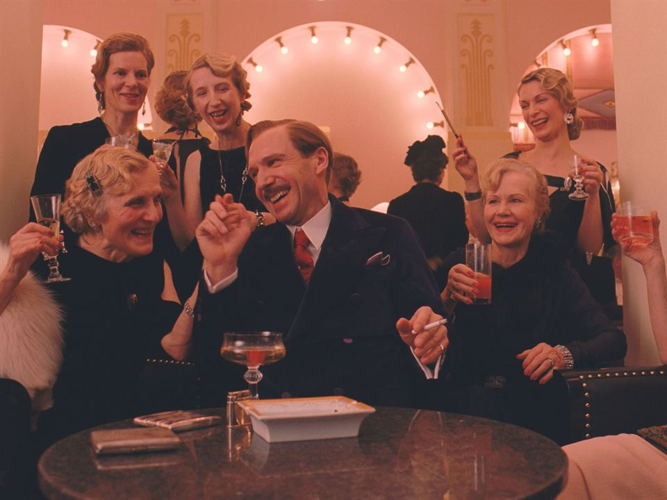 The Grand Budapest Hotel: Ralph Fiennes