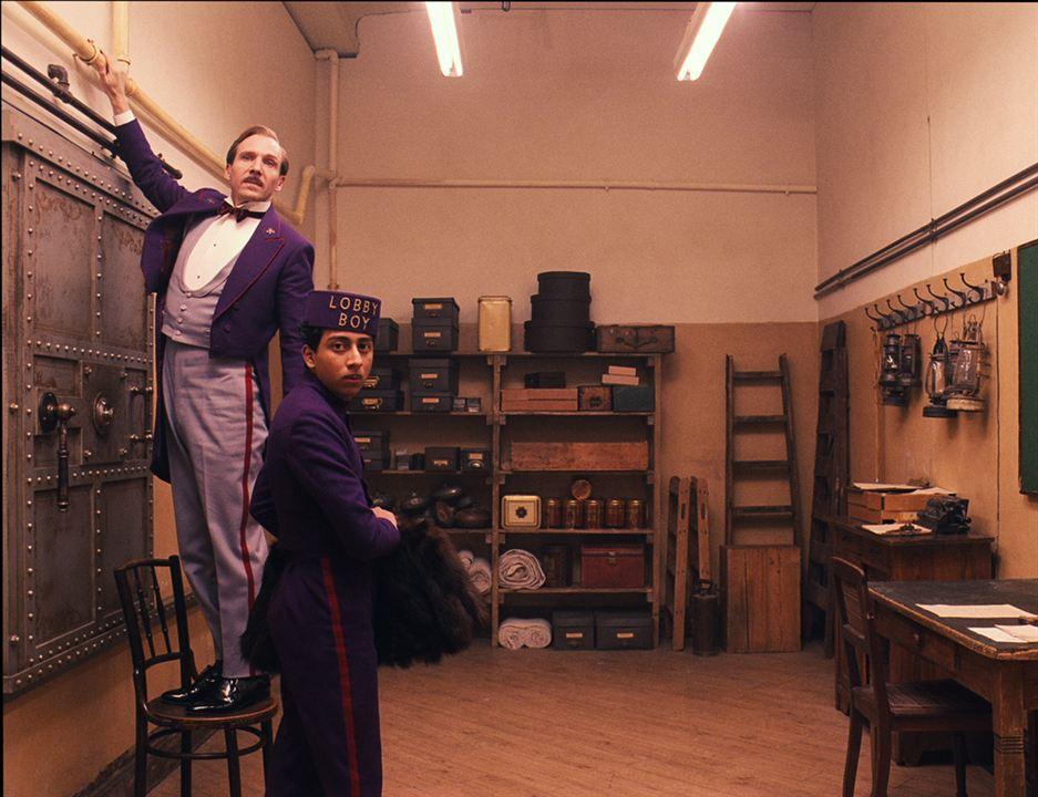 The Grand Budapest Hotel: Tony Revolori, Ralph Fiennes