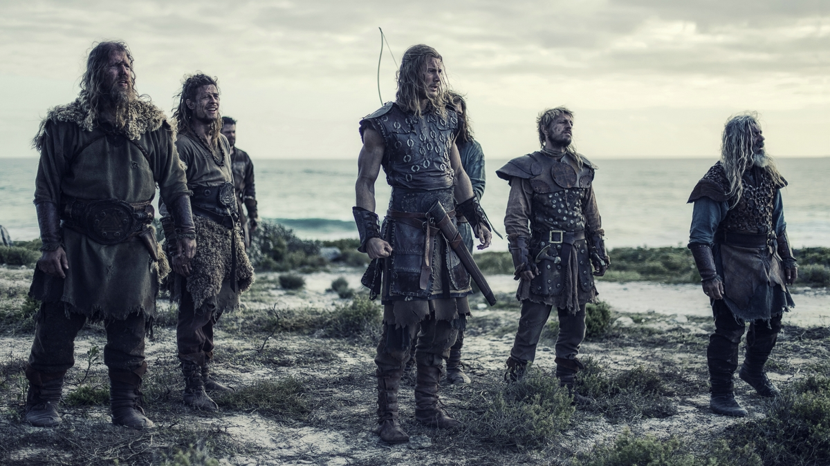 Northmen : Les Derniers Vikings : Photo Darrell D'Silva, James Norton, Johan Hegg, Leo Gregory, Tom Hopper