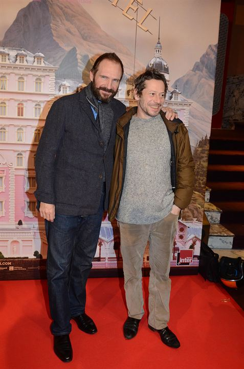 The Grand Budapest Hotel: Ralph Fiennes, Mathieu Amalric