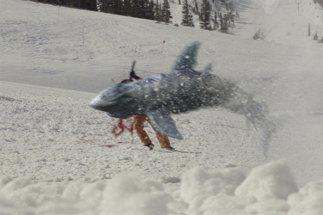 Avalanche Sharks - les dents de la neige