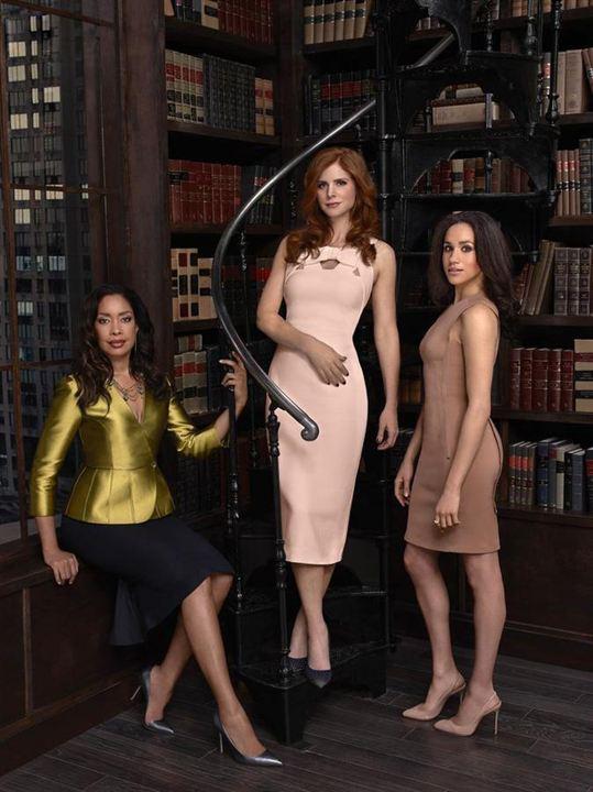 Photo Gina Torres, Meghan Markle, Sarah Rafferty