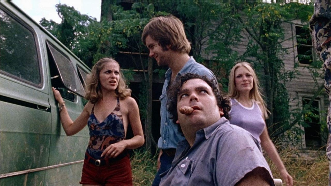 Massacre à la tronçonneuse : Photo Marilyn Burns, Paul A. Partain, Teri McMinn, William Vail