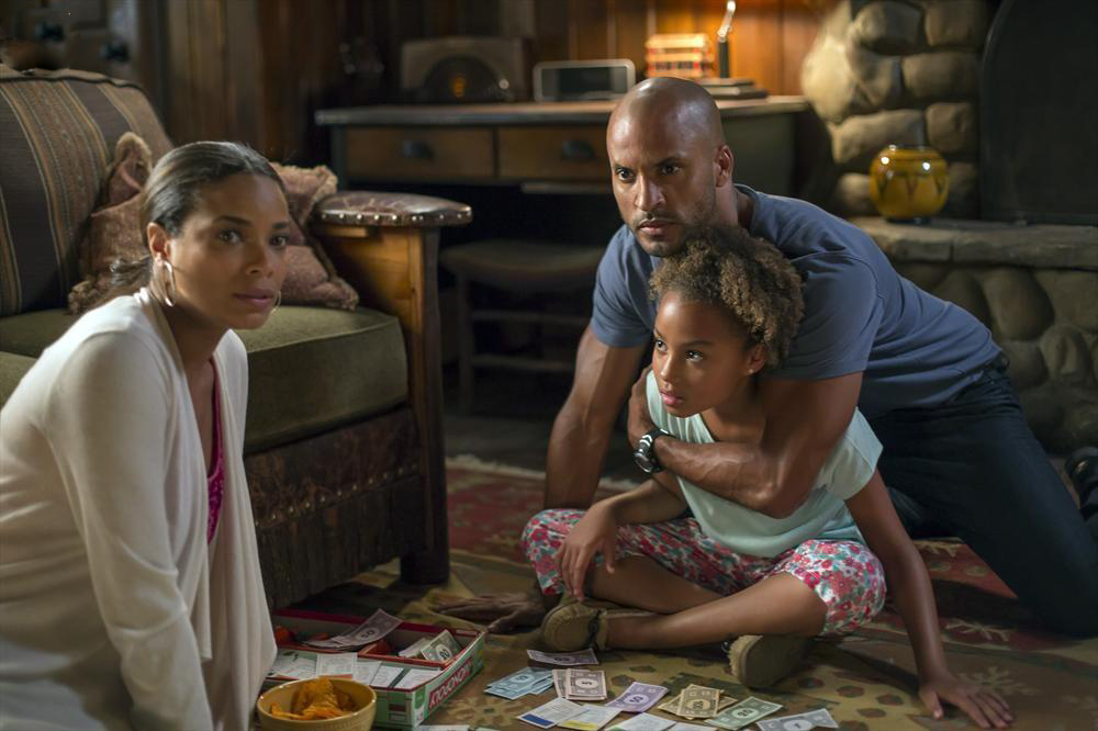 Photo Corinne Massiah, Ricky Whittle, Rochelle Aytes