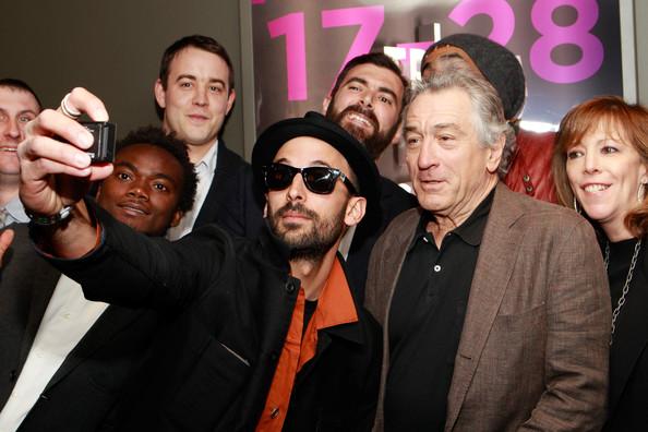 Inside Out:  JR, Alastair Siddons, Robert De Niro
