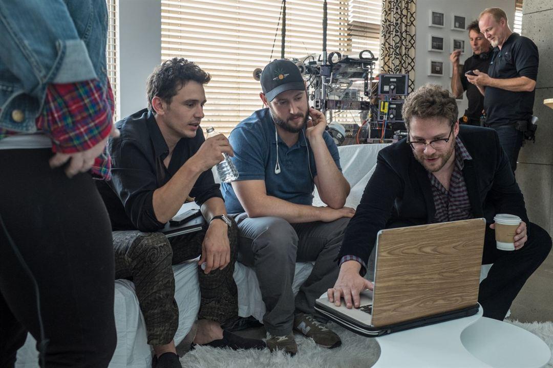L' Interview qui tue ! : Photo Evan Goldberg, James Franco, Seth Rogen