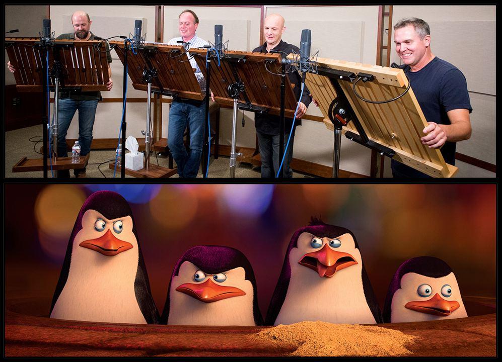 Les Pingouins de Madagascar : Photo promotionnelle Chris Miller (LX), Christopher Knight, Conrad Vernon, Tom McGrath