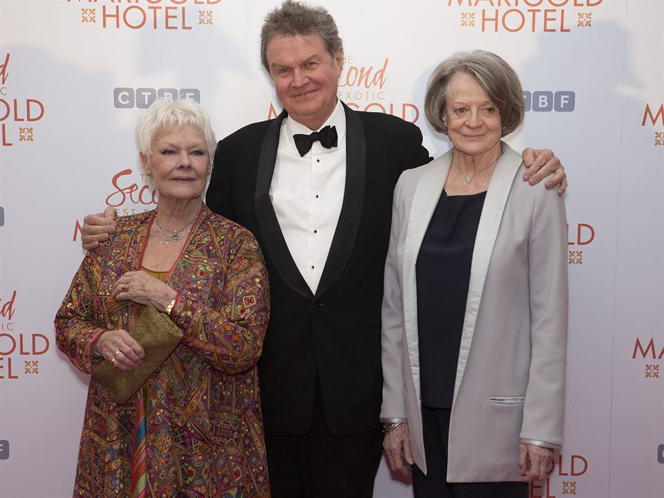 Indian Palace - Suite royale : Photo promotionnelle John Madden, Judi Dench, Maggie Smith