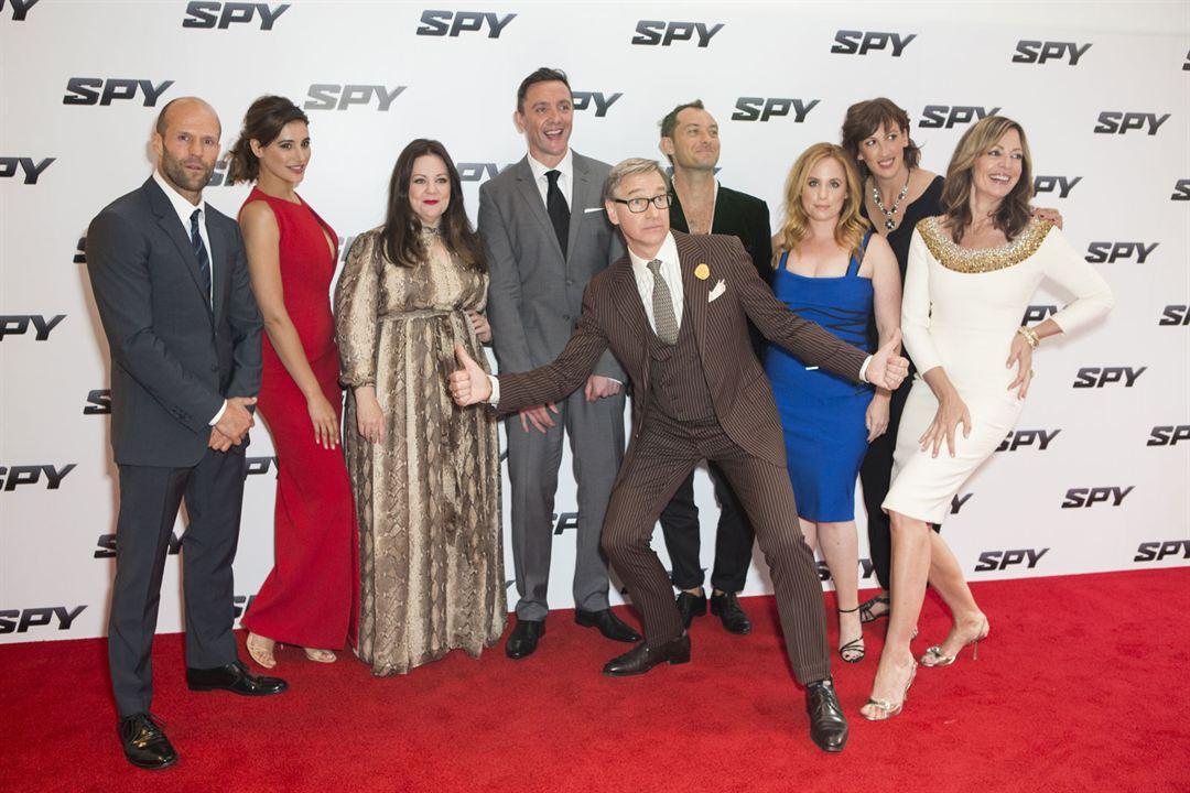 Spy: Jude Law, Jason Statham, Melissa McCarthy, Paul Feig