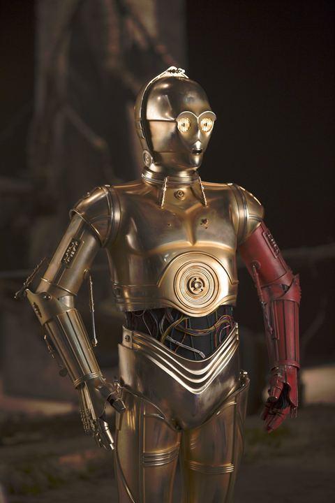 Star Wars - Le Réveil de la Force : Photo Anthony Daniels