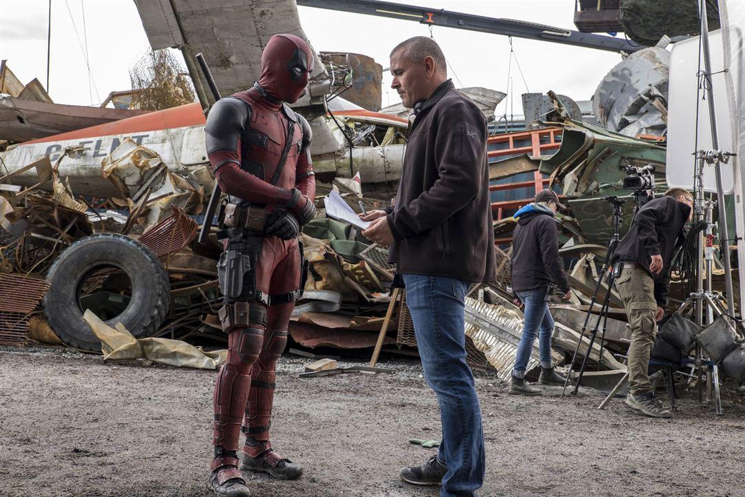 Deadpool : Photo Ryan Reynolds, Tim Miller