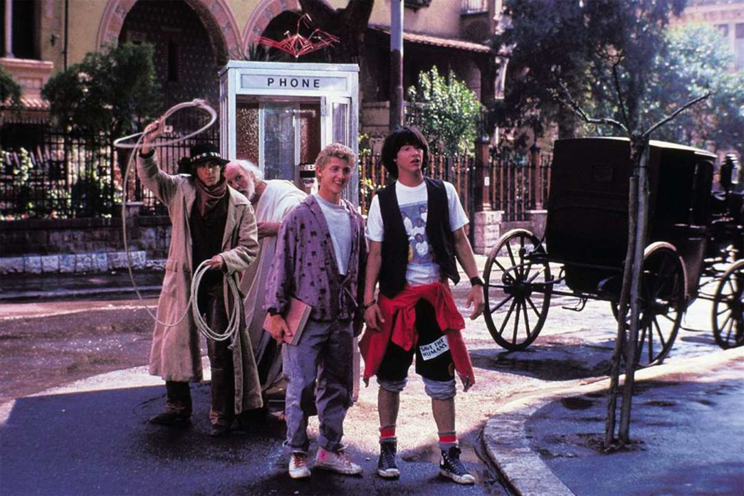 Bill & Ted's Excellent Adventure: Alex Winter, Keanu Reeves