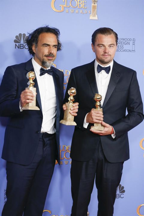 The Revenant : Photo promotionnelle Alejandro González Iñárritu, Leonardo DiCaprio