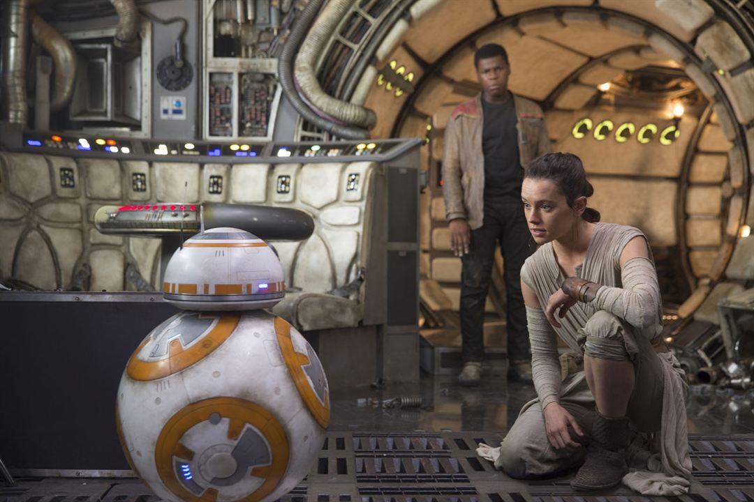 Star Wars - Le Réveil de la Force: John Boyega, Daisy Ridley