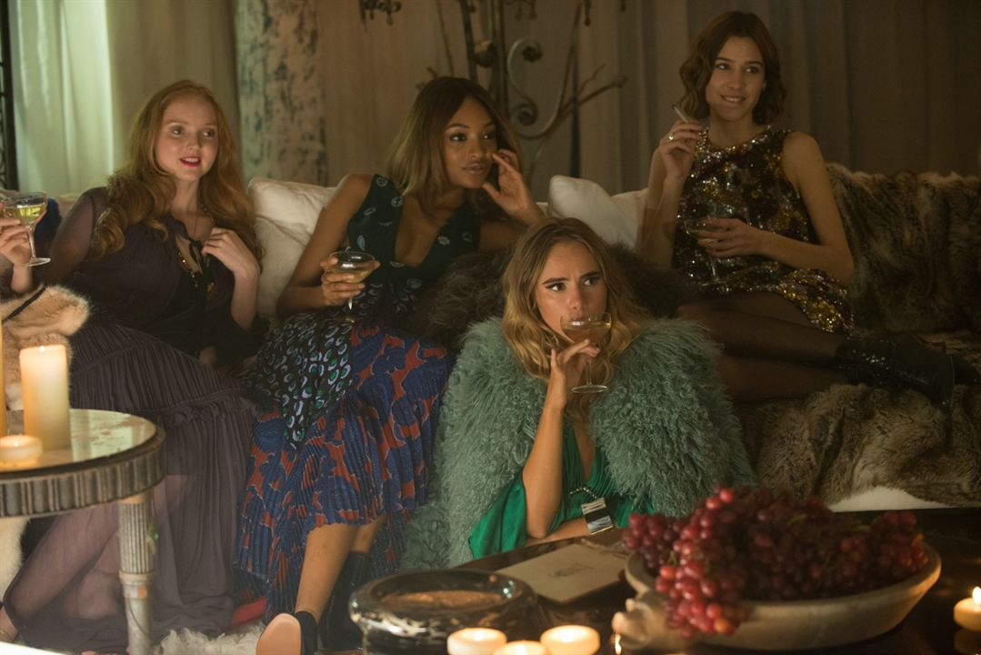 Absolutely Fabulous : Le Film : Photo Jourdan Dunn, Lily Cole, Suki Waterhouse