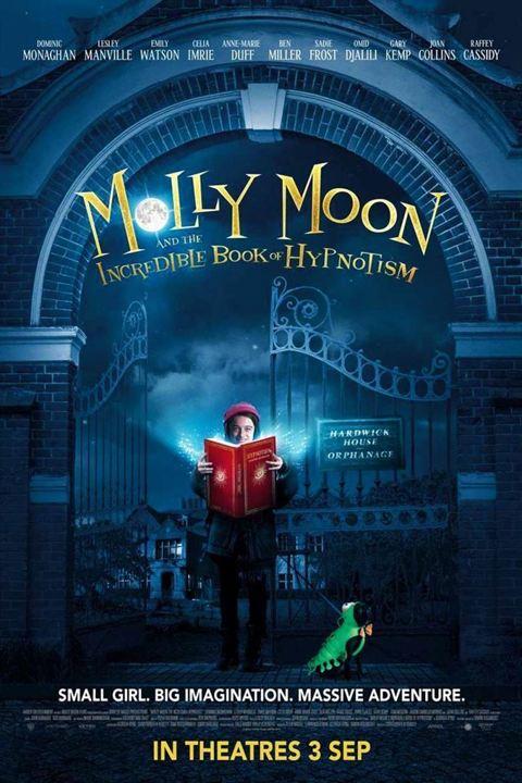 Molly Moon et le livre magique de l'hypnose : Affiche