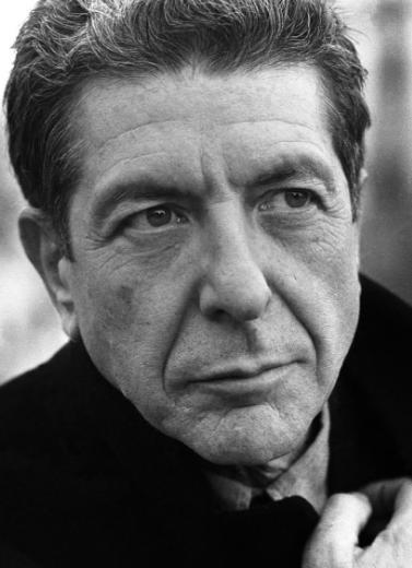 Affiche Leonard Cohen