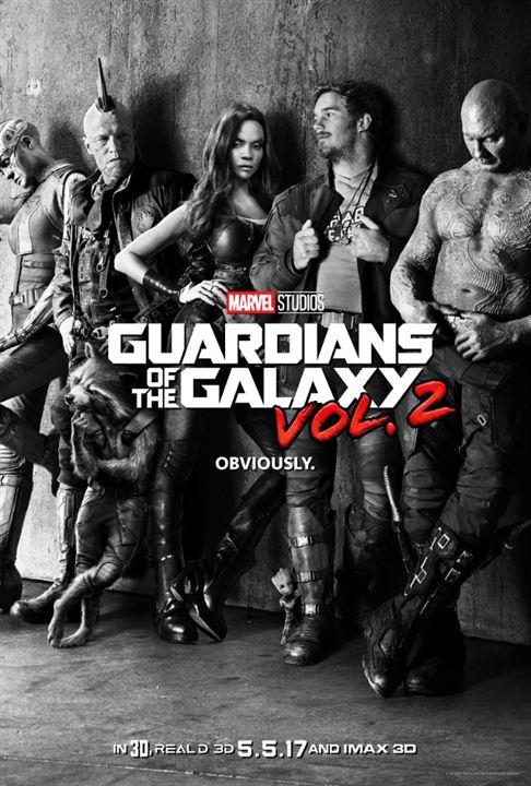 Les Gardiens de la Galaxie 2 : Affiche