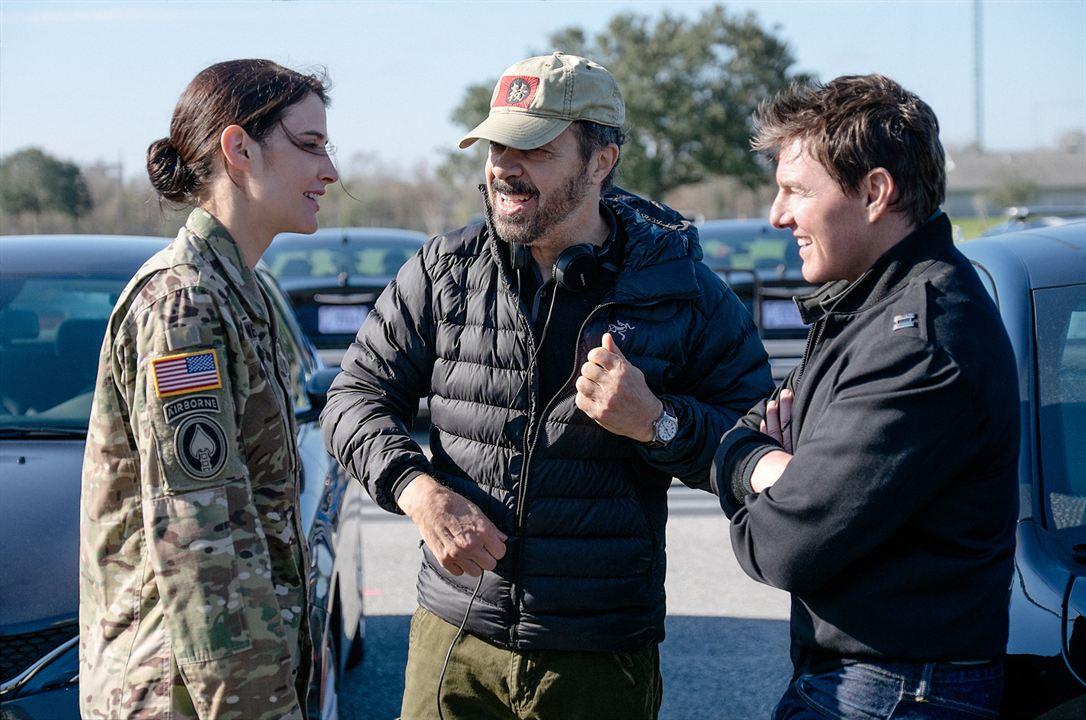 Jack Reacher : Never Go Back : Photo Cobie Smulders, Edward Zwick, Tom Cruise