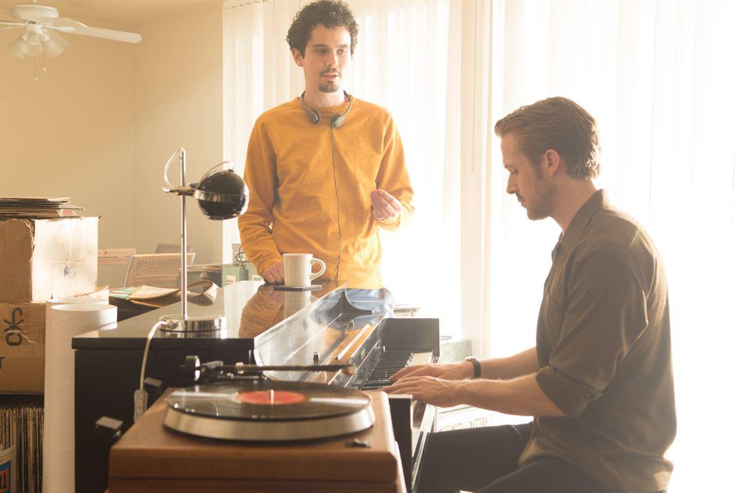 La La Land : Photo Damien Chazelle, Ryan Gosling